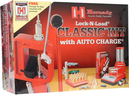 Hornady #085016 Wiederladeset Lock-n-Load Classic Kit mit Auto-Charge